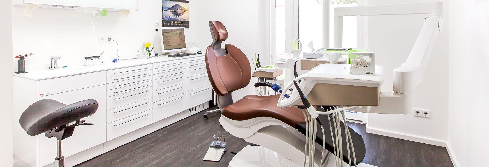 Neuer Behandlungsraum Zahnarztpraxis Röder